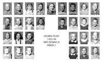 Crown Point Elementary School 1953-54