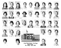 Crown Point School 1st Grade 1962