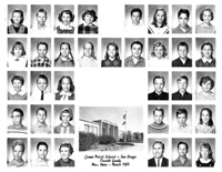 Crown Point School 1st Grade 1964