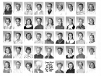 Crown Point School 1st Grade 1965
