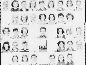 Mrs. Kuders 5th grade class 1949-50