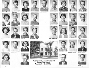 Class of Mrs Beach 1963
