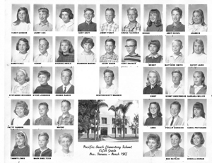 Class of Mrs Reneau 1965