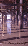 Crystal Pier beneath 1973